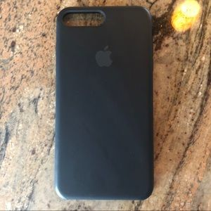 Black Apple iPhone Plus case